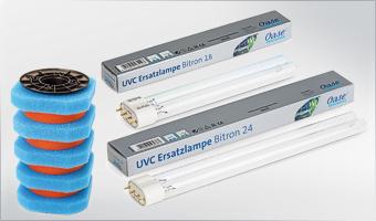 Ersatzteile für Teichfilter / UV