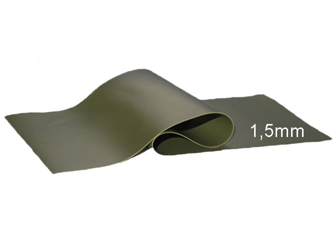 Teichfolie PVC 1,5mm olivgrün