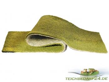 grüne Ufermatte für Teichrandgestaltung 100cm breit