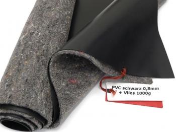 Premium PVC Teichfolie 0,8mm schwarz incl. Teichvlies V1000