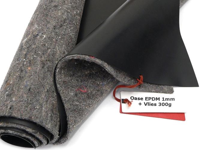 SIKA Premium PVC Teichfolie 0,5mm schwarz