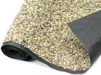 Steinfolie sandfarben 40cm breit für Teichrand und Bachlauf