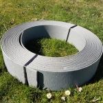 stabile Beeteinfassung Rasenkante Beetumrandung  19cm x 12,5m