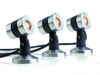 Oase Teichbeleuchtung LunAqua Maxi LED Set 3 mit Trafo