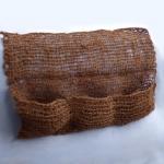 Pflanztasche Kokos ca. 100 cm breit mit 3 Taschen