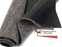 Premium PVC Teichfolie 0,8mm schwarz incl. Teichvlies V300