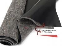 Premium PVC Teichfolie 0,8mm schwarz incl. Teichvlies V500