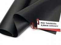 Premium PVC Teichfolie 0,8mm schwarz