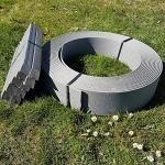 stabiles Teichrandband für Teichfolie  14 cm x 12,5 m