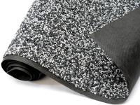 Steinfolie granit-grau 40cm breit für Teichrand und Bachlauf