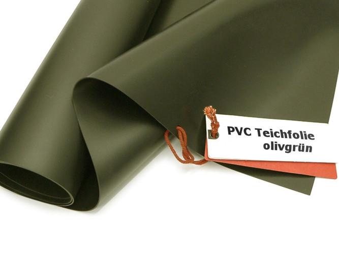 Teichbau Teichfolie aus PVC